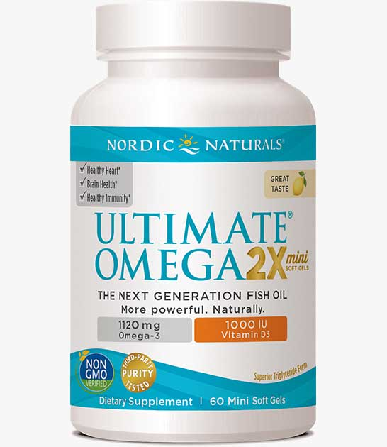 Ultimate Omega 2X Mini w/ Vitamin D3