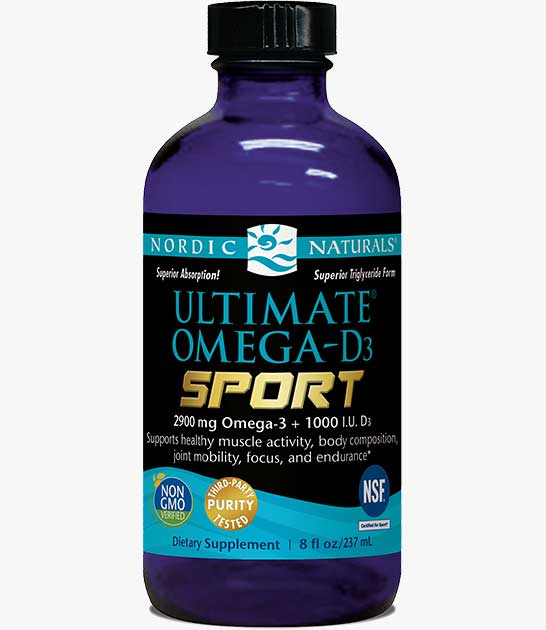 Ultimate Omega-D3 Sport Liquid
