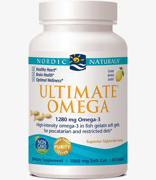 Ultimate Omega in Fish Gelatin
