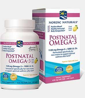 Postnatal Omega-3