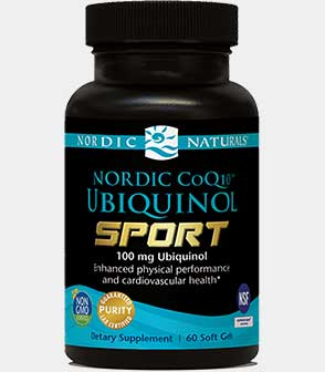 Nordic CoQ10 Ubiquinol Sport