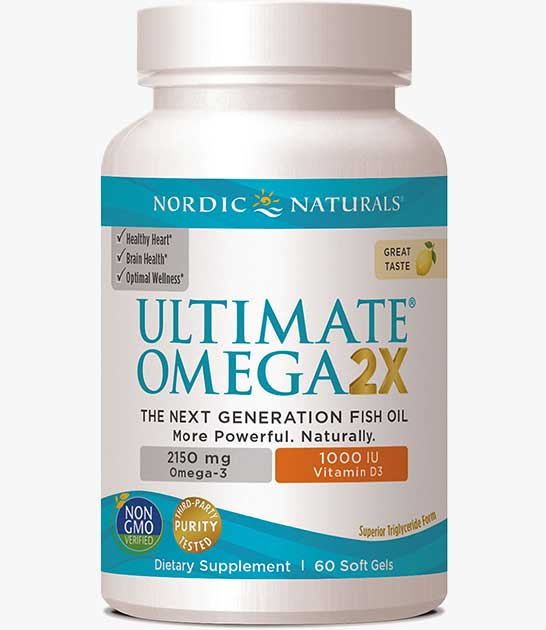 Ultimate Omega 2X with Vitamin D3