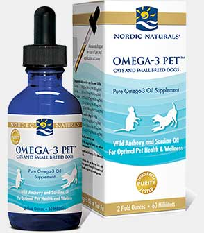 Omega-3 Pet for Cats and Small Breed Dogs