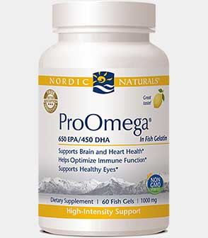 ProOmega in Fish Gelatin