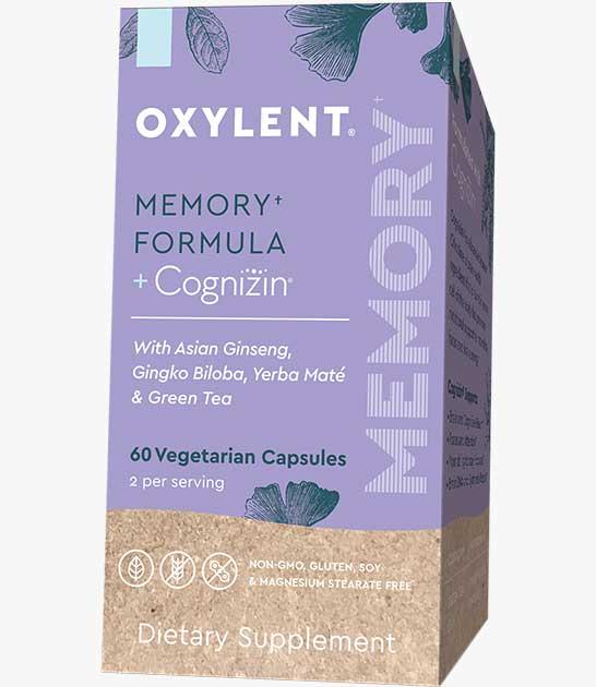 Oxylent Memory Formula + Cognizin