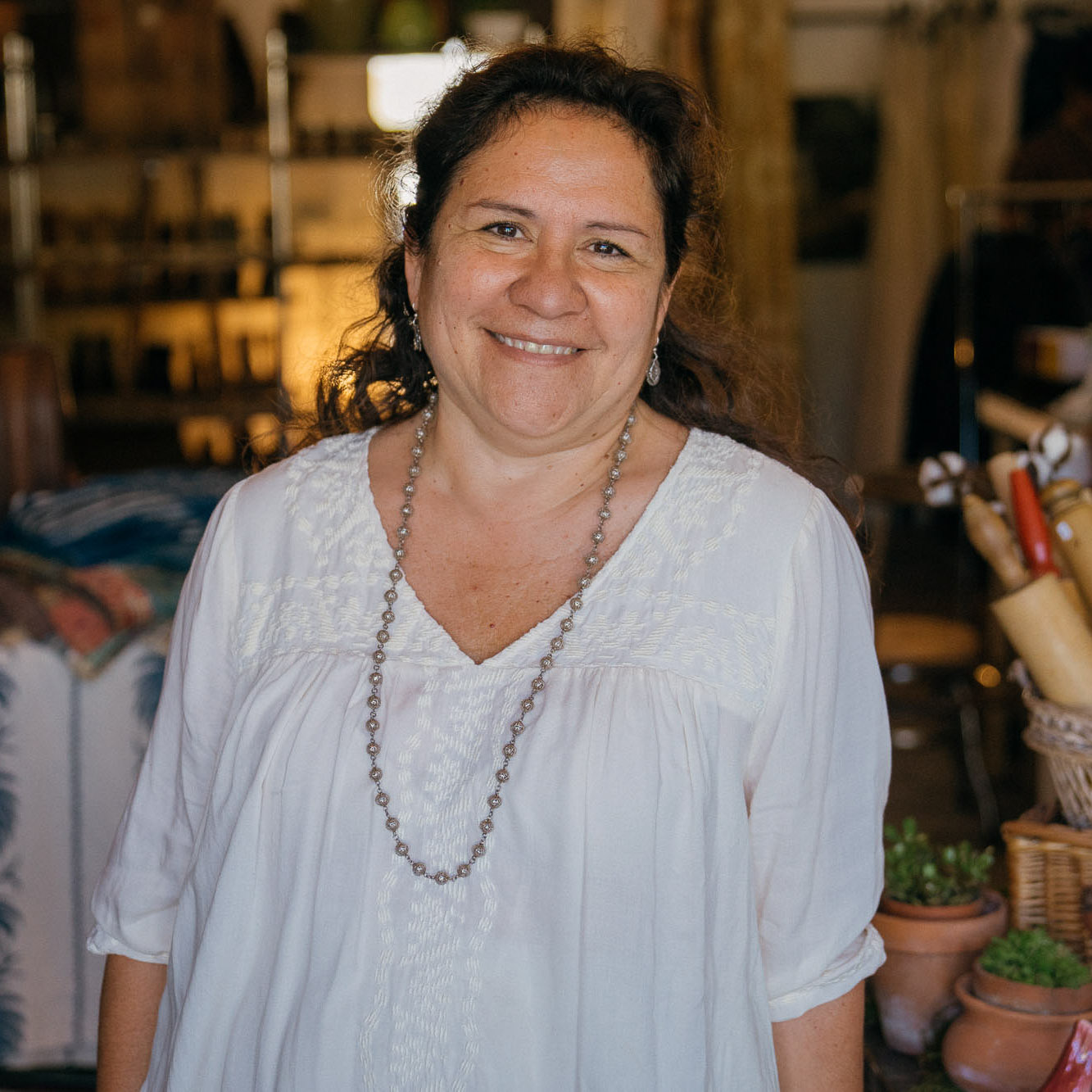 Sara Peterson, Co-Founder of Scout Coffee, recommends shopping at Ruby Rose in San Luis Obispo as part of the Dirt Road Travels city travel guide to San Luis Obispo.