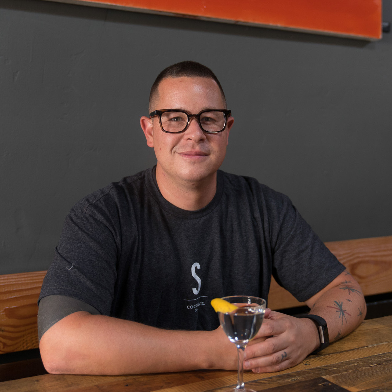 """A family owned business that's very into the craft cocktail scene."""