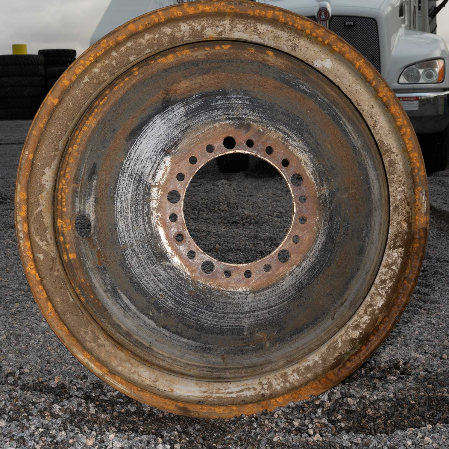 agricultural rim in fair condition