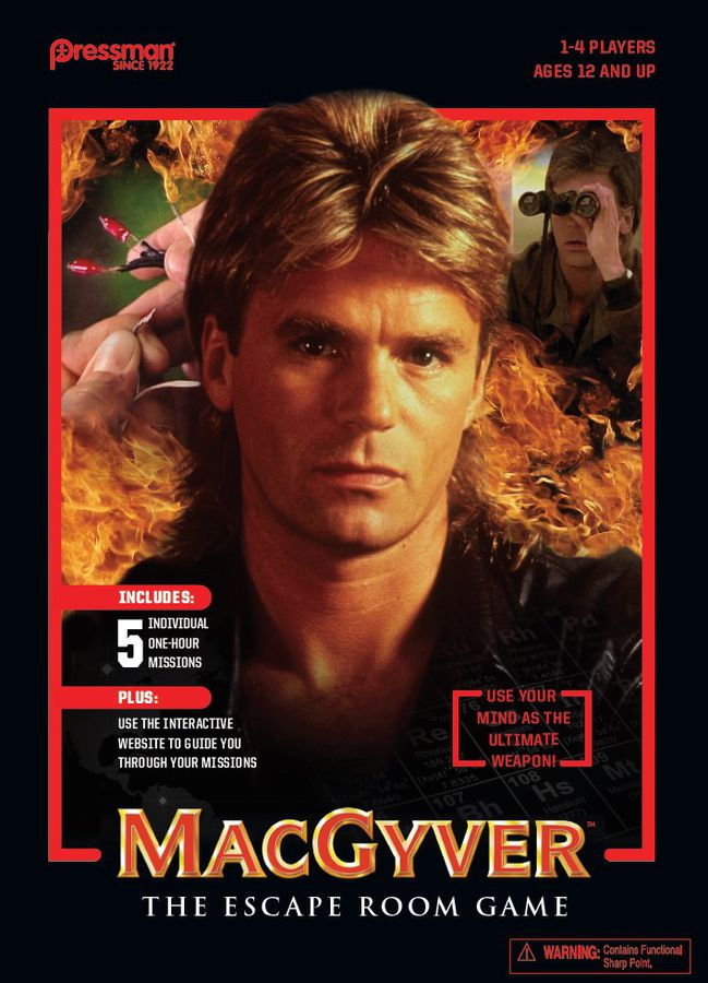 MacGyver: The Escape Room Game