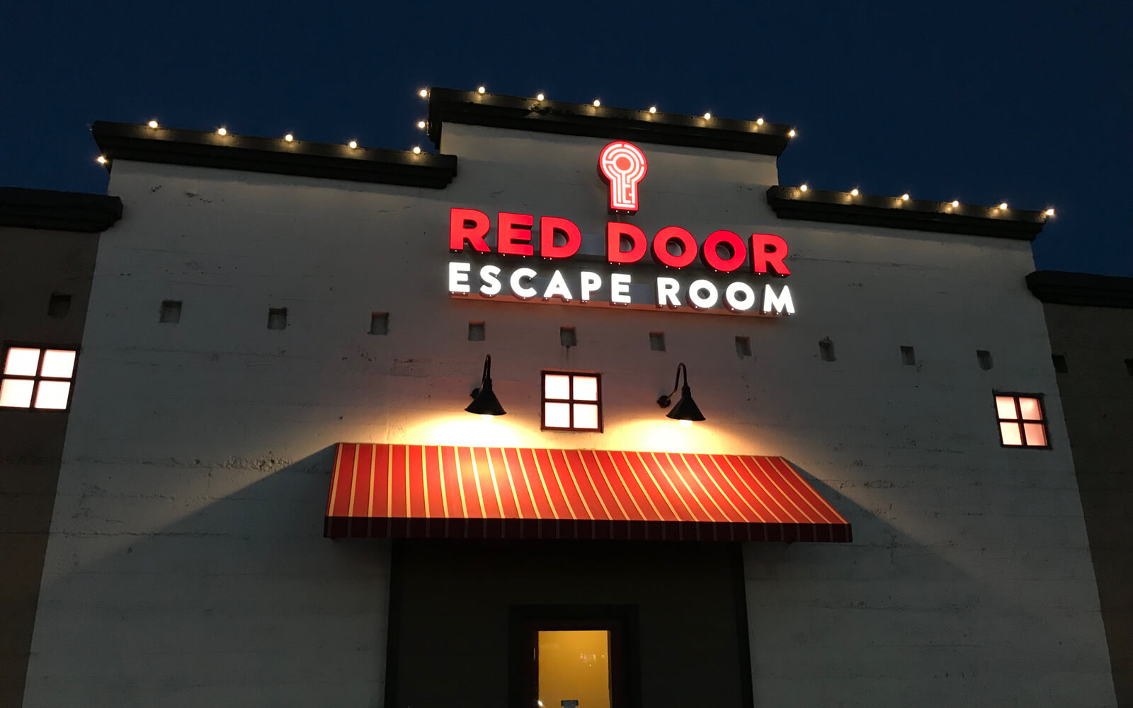 Outside of our Sacramento location & Gallery - Sacramento | Red Door Escape Room