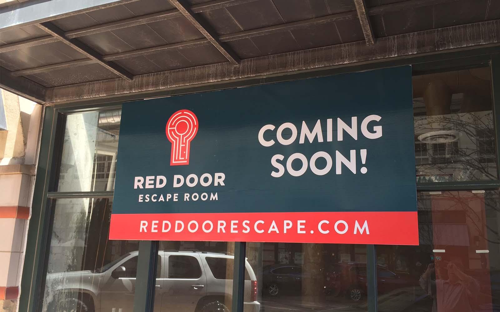 Gallery Fort Worth Red Door Escape Room