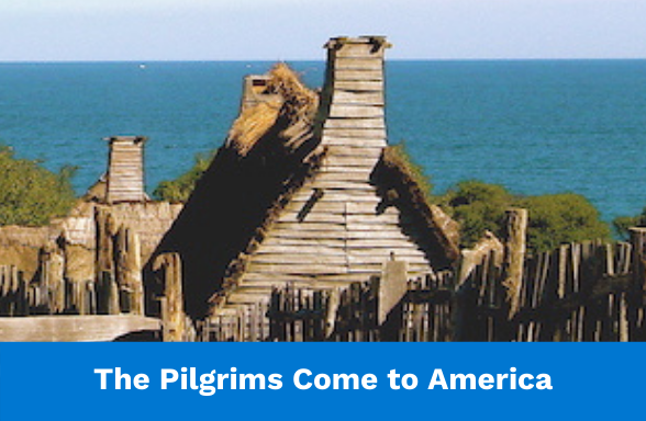Plymouth settlement of the Pilgrims - Thanksgiving history