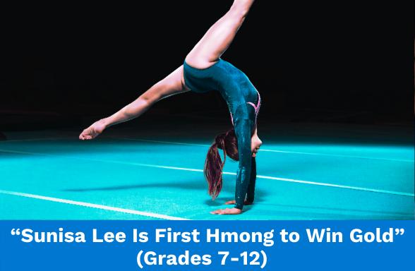 Gymnast representing Olympics champion Sunisa Lee