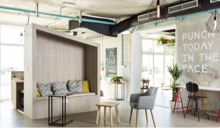 reduced overhead - coworking space