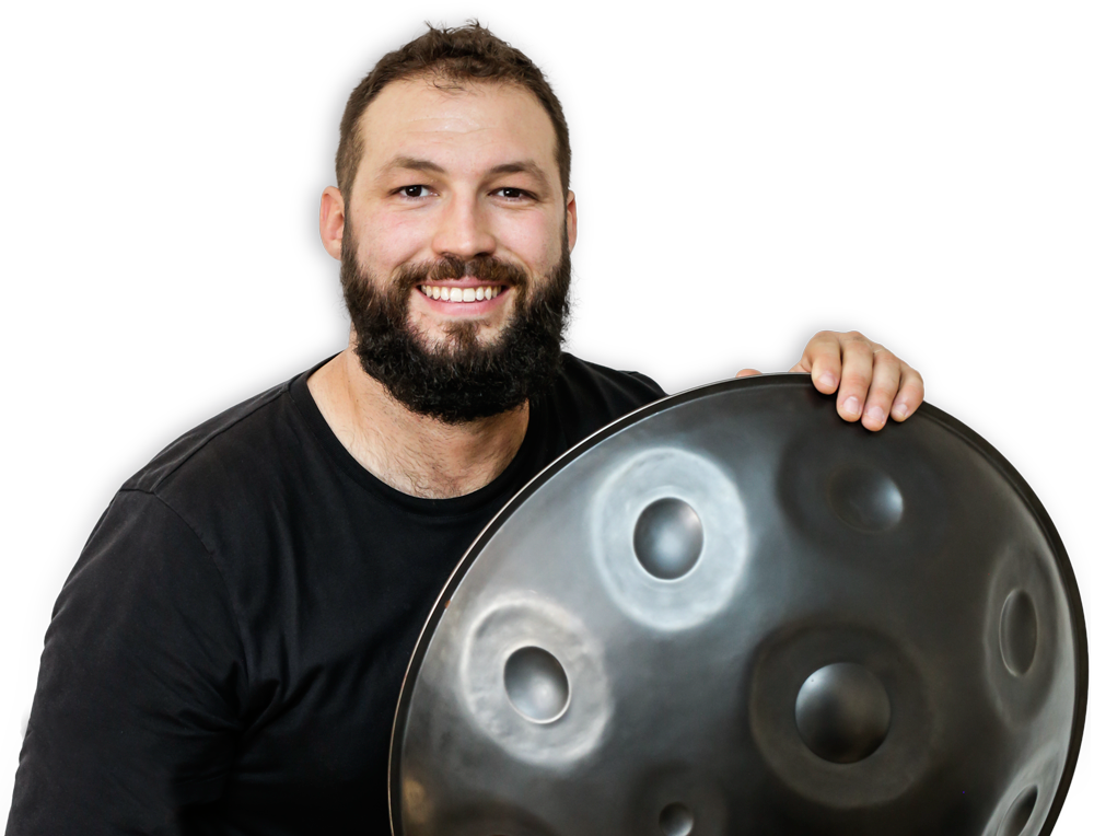 Learn handpan with David Charrier