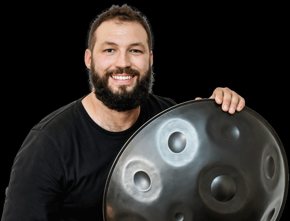 Learn handpan with David Charrier