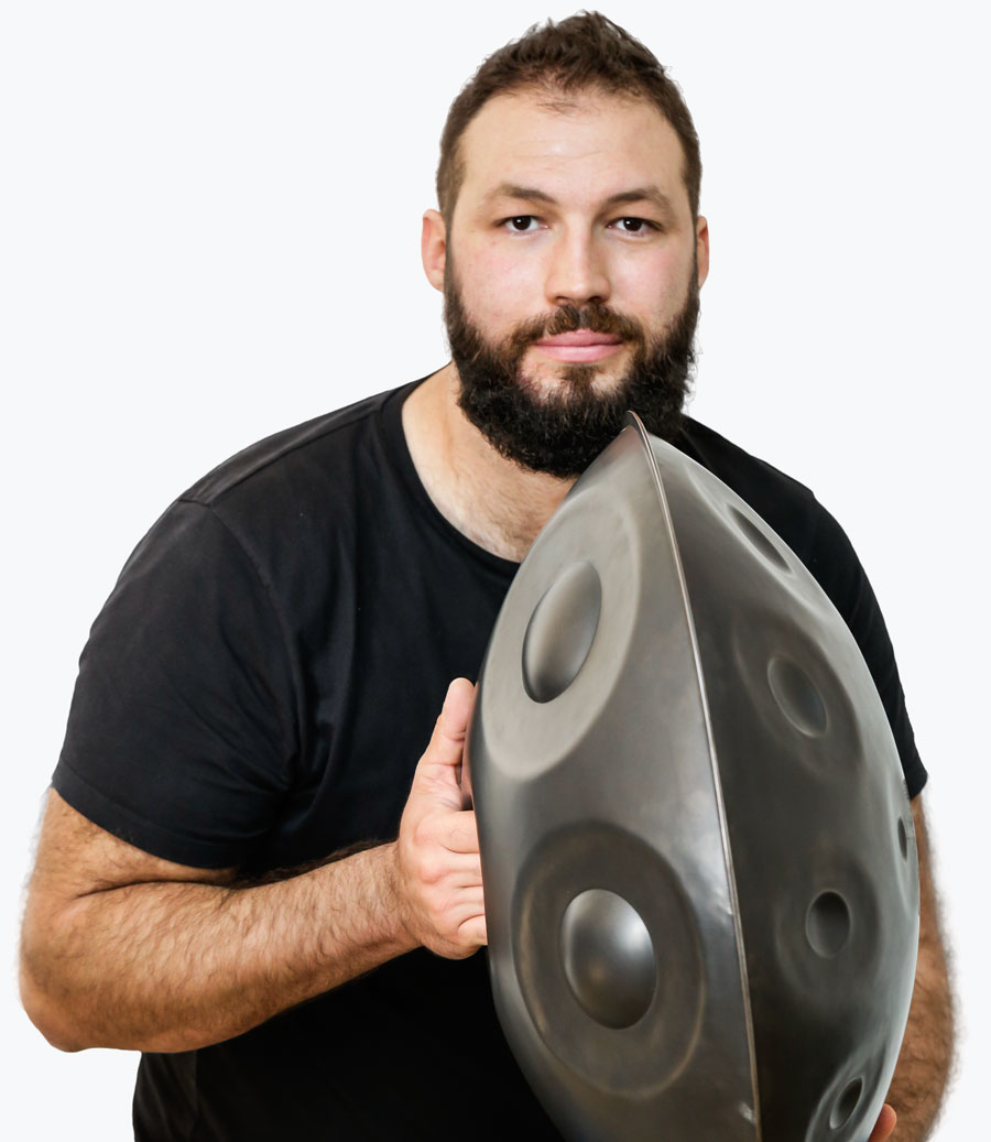 Learn to play handpan with David Charrier