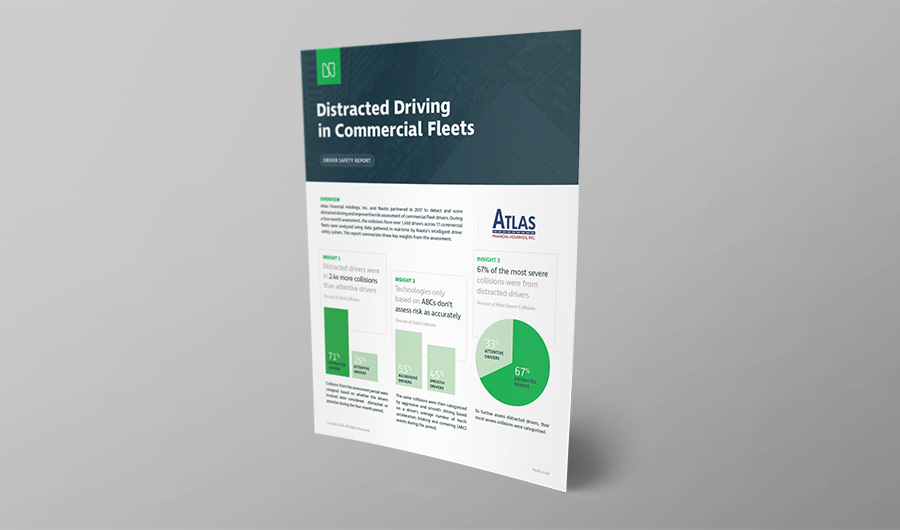 Photo of the cover of the driver report