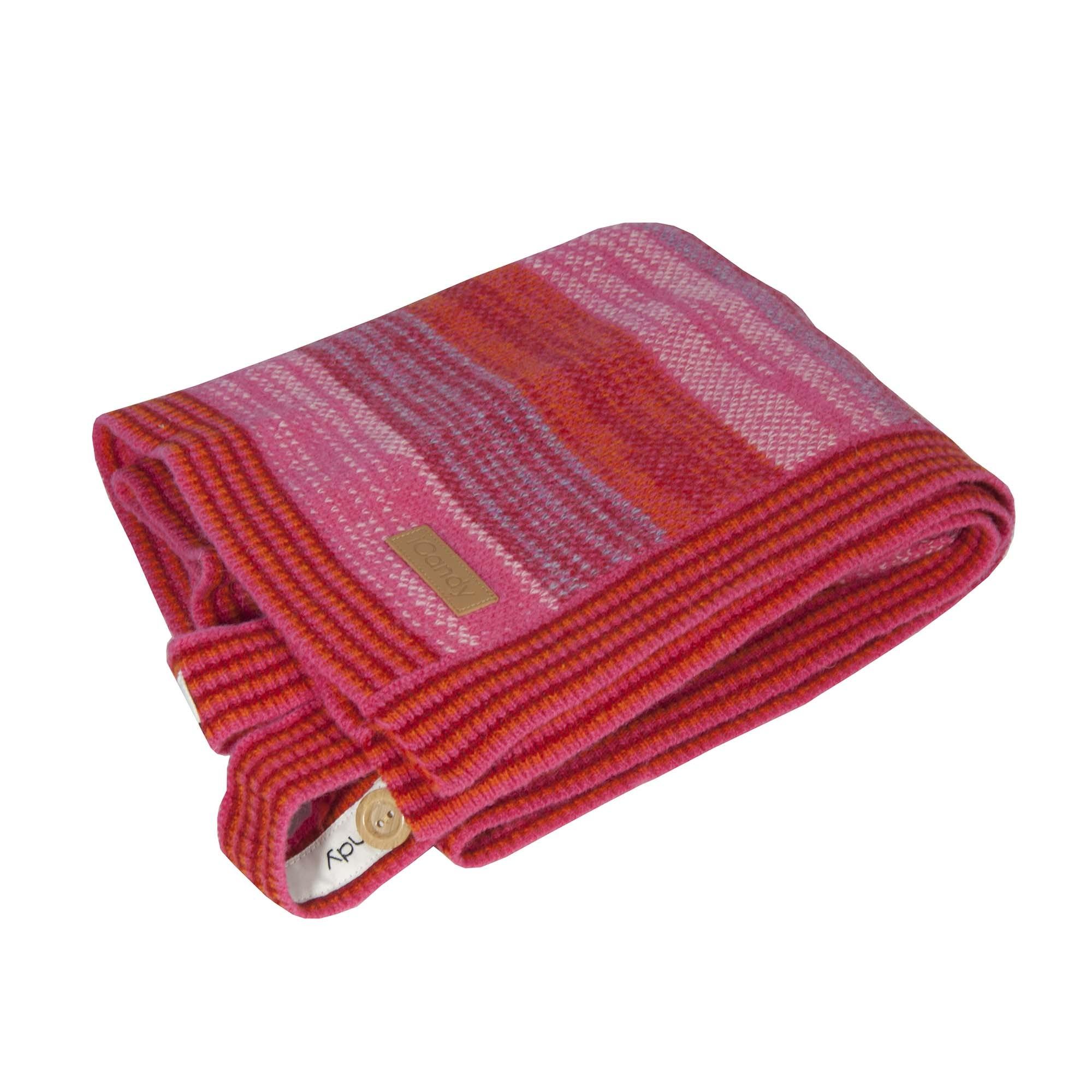 vintage blanket pink