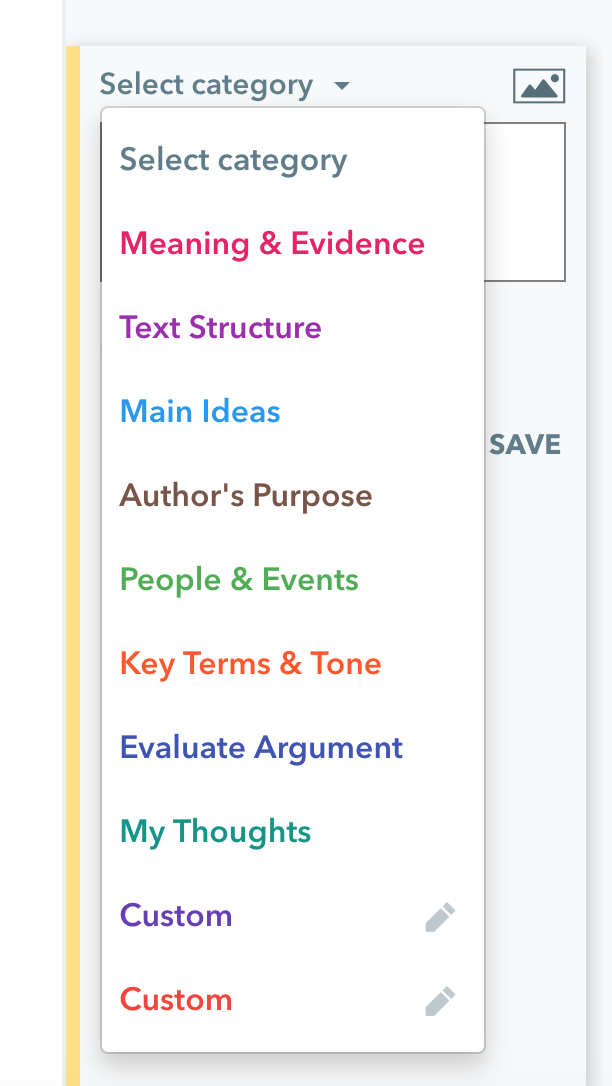 Students can improve their writing by using Actively Learn's tools to analyze text structure, evaluate arguments, discuss the author's purpose, and more.