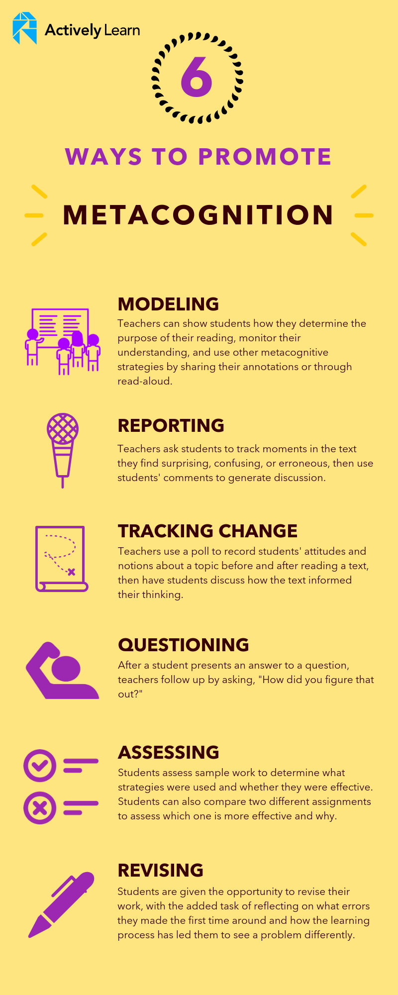 6 ways to promote metacognition