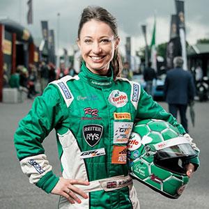 UK Postbox Sponsor Rebecca Racer