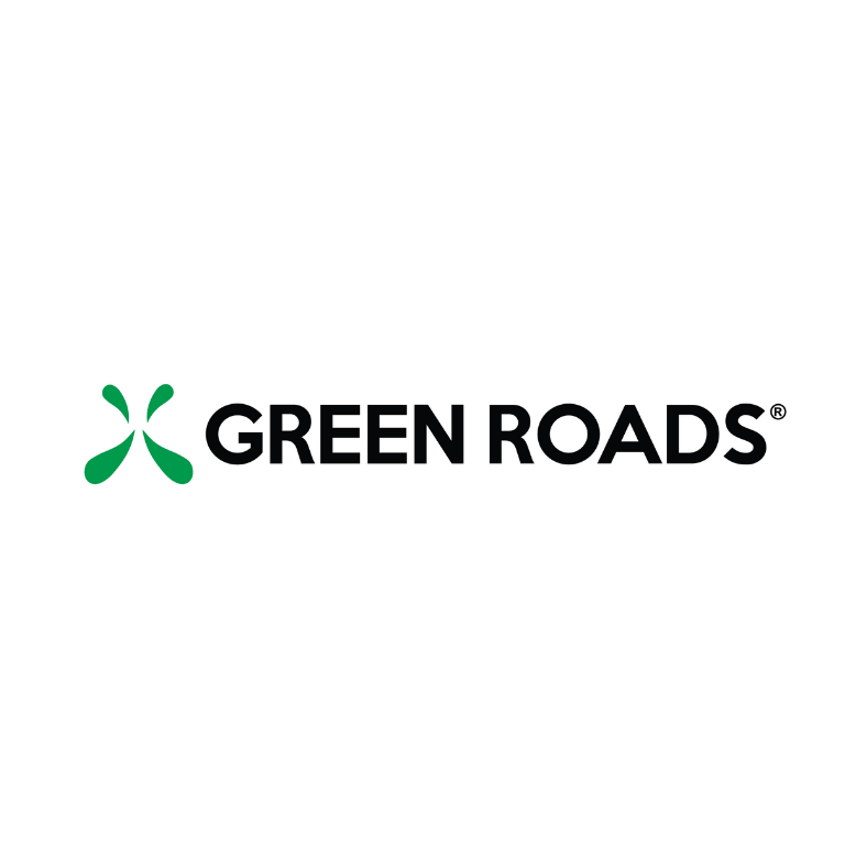 Green Roads logo for Brightfield Testimonial