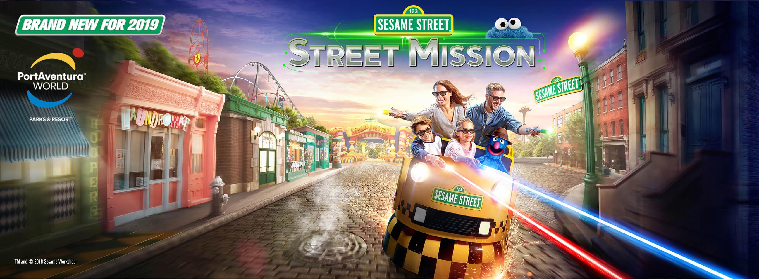 PortAventure Sesame Street