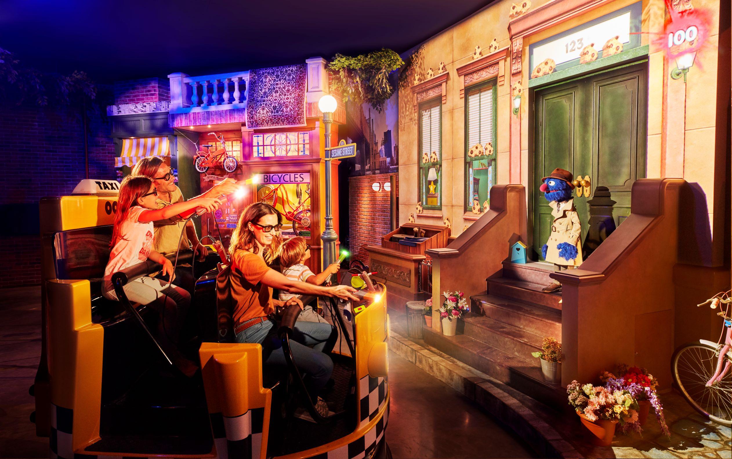 Sesame Street Street Mission Ride