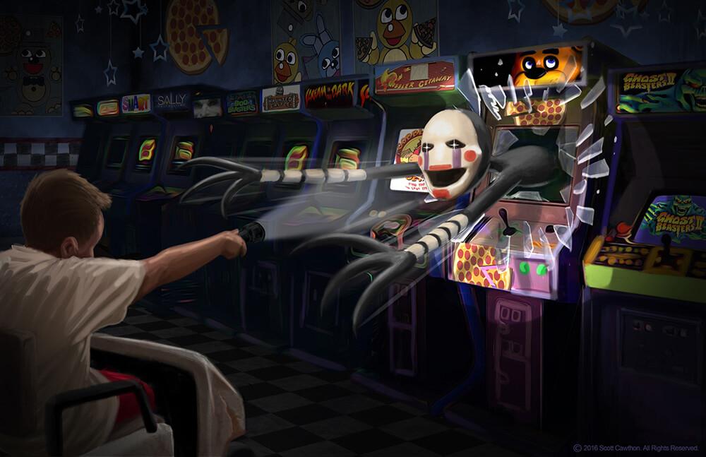 FNAF-arcade