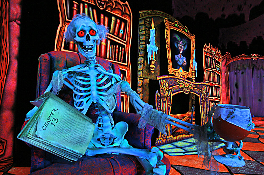 dead with book