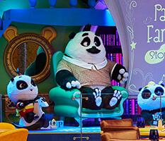 Panda Family's Fantasy