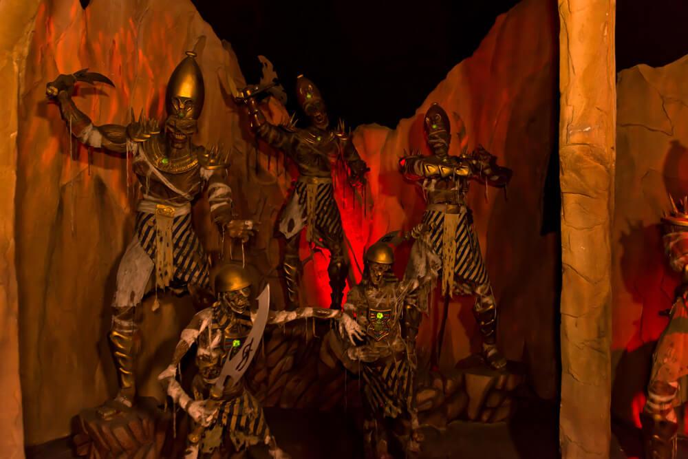 warrior mummys