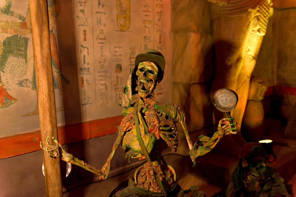 skeleton scream