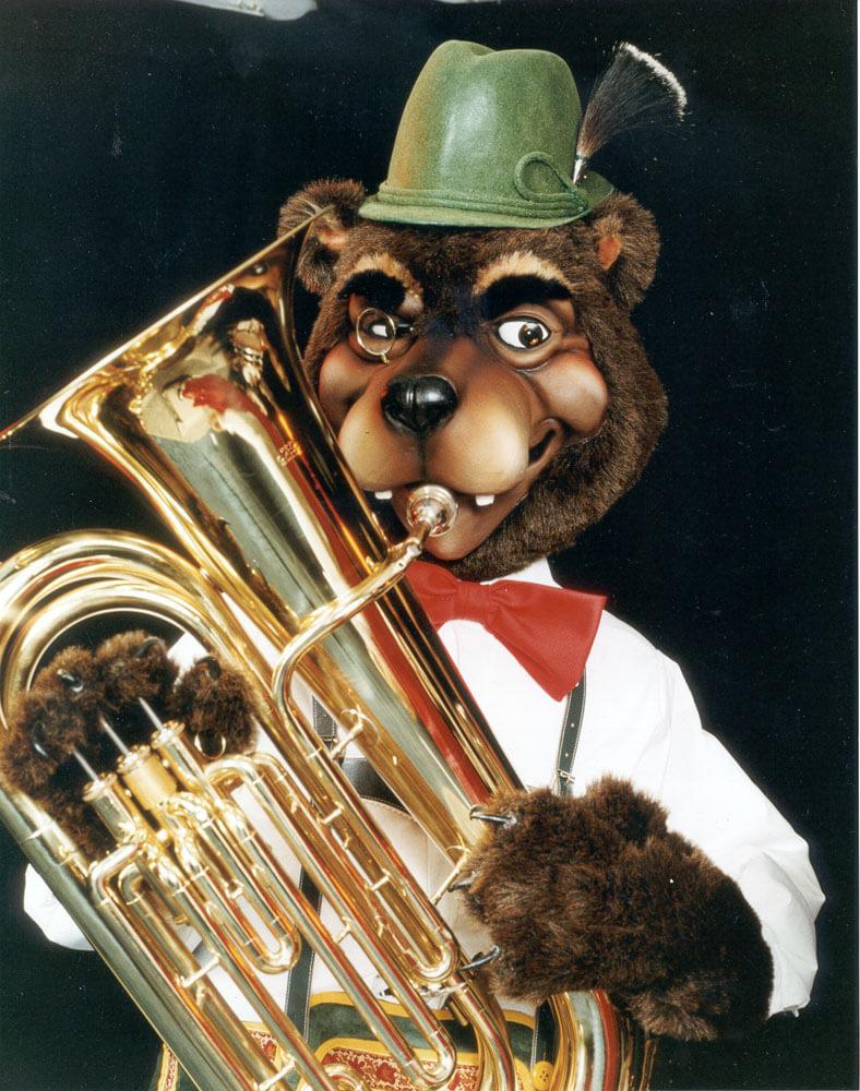 Tuba Bear