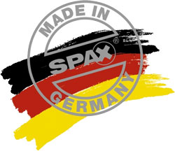 SPAX Made In Germany