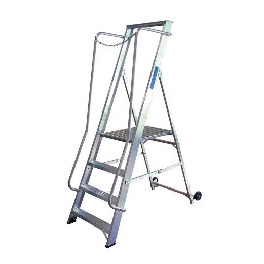 Widestep Aluminium Ladder