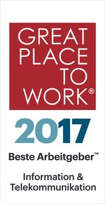 great place to work certificate 2017 Information & Telecommunication