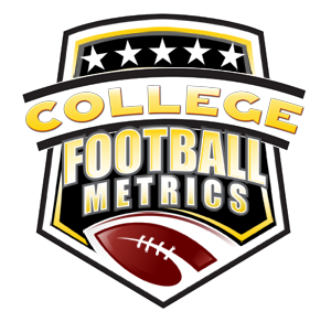 college football metrics stats and coaching logo