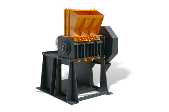 SINGLE SHAFT INDUSTRIAL SHREDDERS