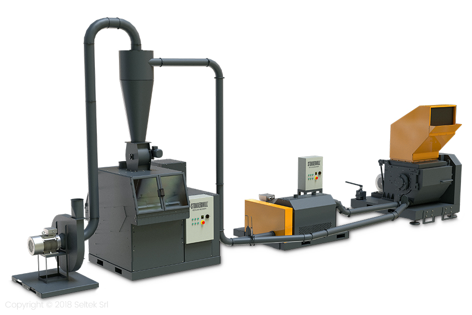 Industrial Recycling Lines |M series