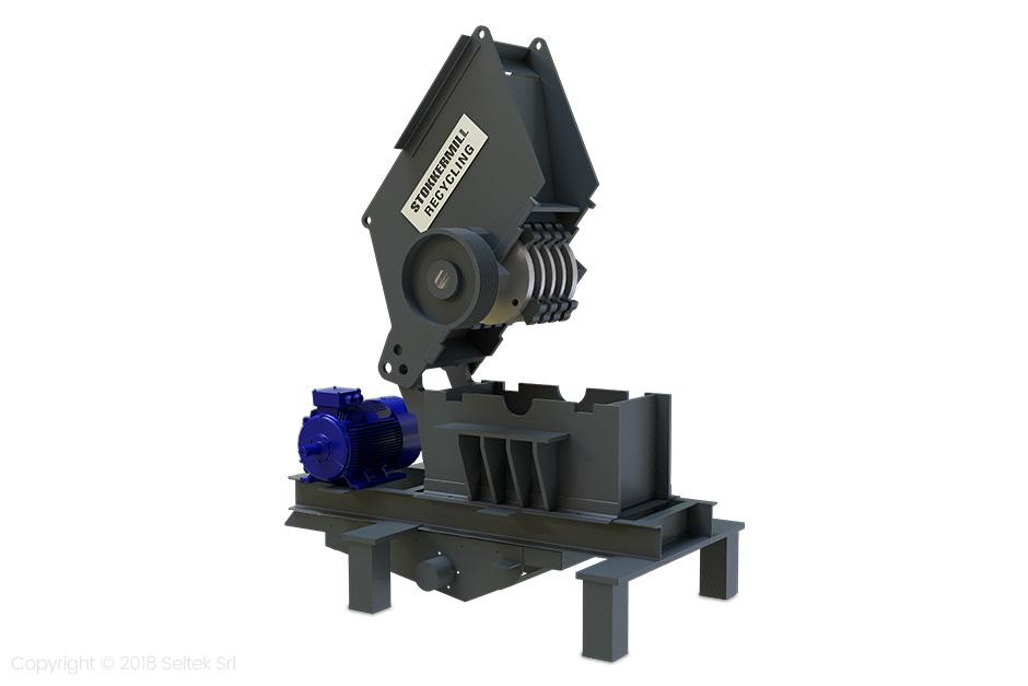 Hammer mills formetals
