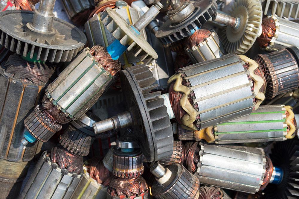 Riciclaggio motori elettrici