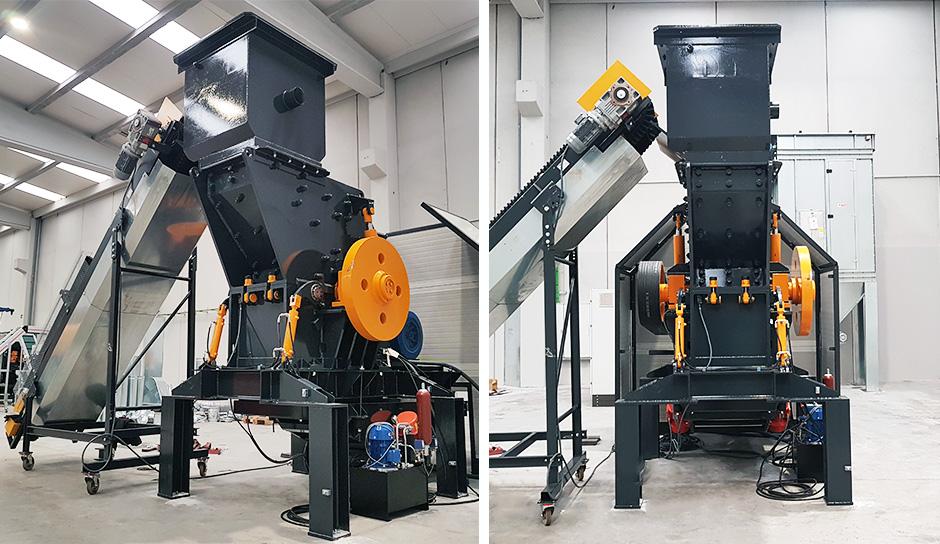 Hammermühle für Metallschrott Reduktion | STOKKERMILL HM