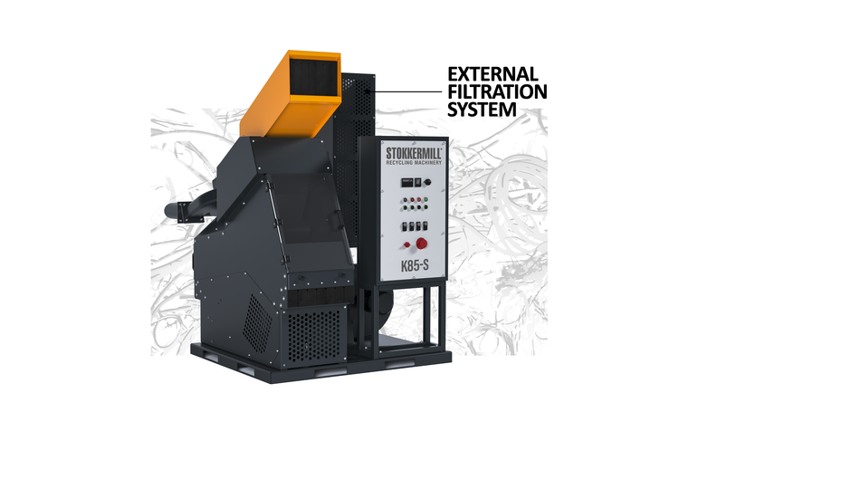 ENTRY-LEVEL WIRE GRANULATORS K-S SERIES