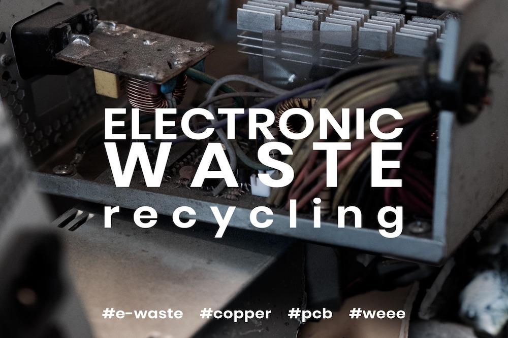 小型家電用破砕機 (E-Waste, WEEE, PCB)