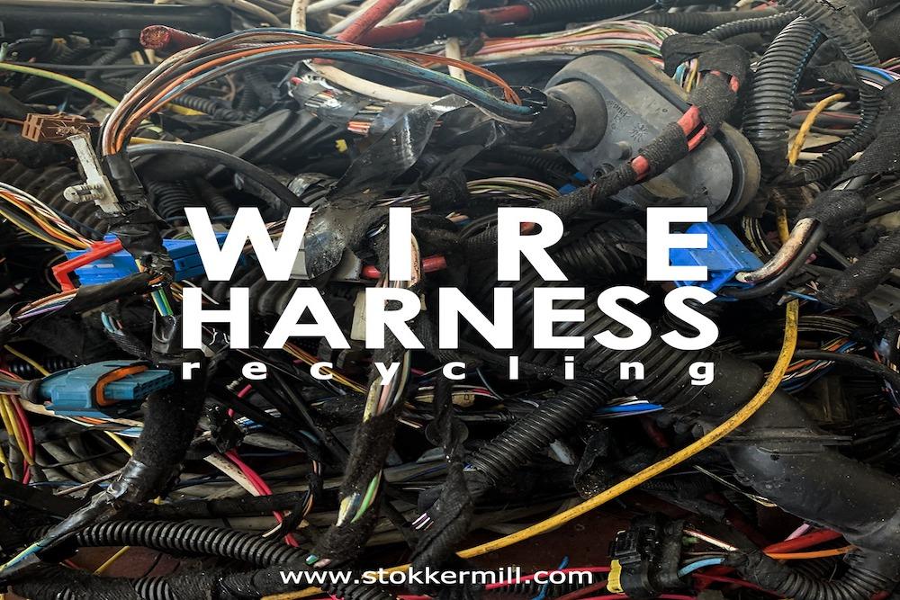Riciclaggio cavi automobilistici