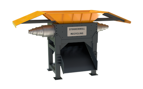 Metalen schroot versnipperaar | STOKKERMILL D