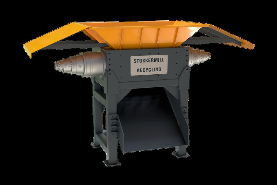 Trituratore rottame ferroso e metallo | STOKKERMILL - D150