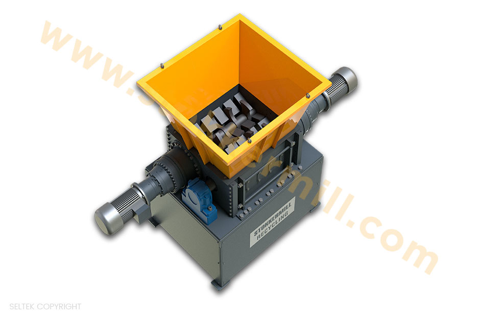 trituratori primari bialbero per la triturazione e riduzione volumetrica